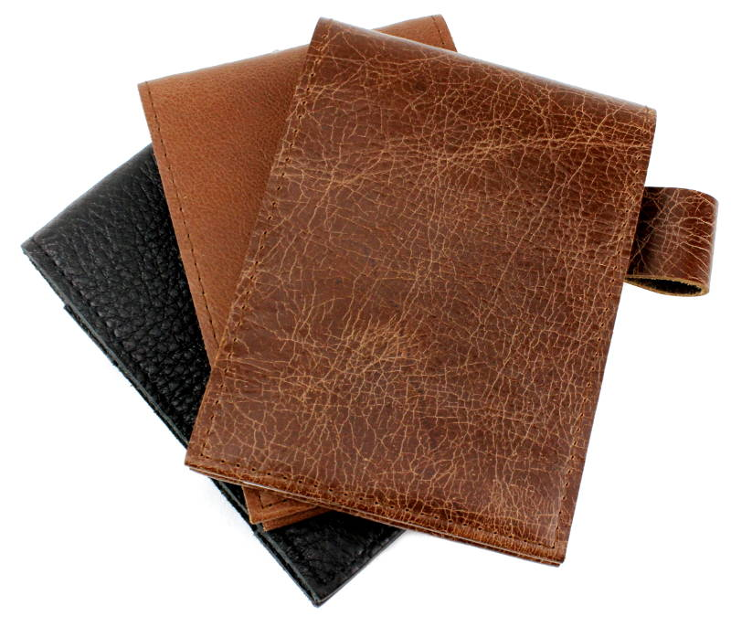 Leather Detective Style Notepads