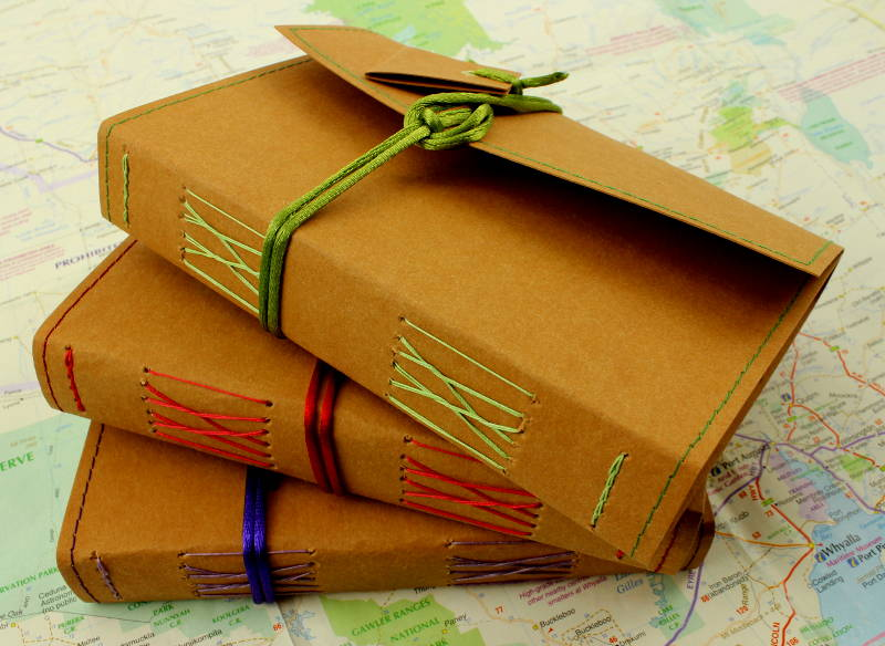 Paper Fabric Travel Journals are Vegan Friendly